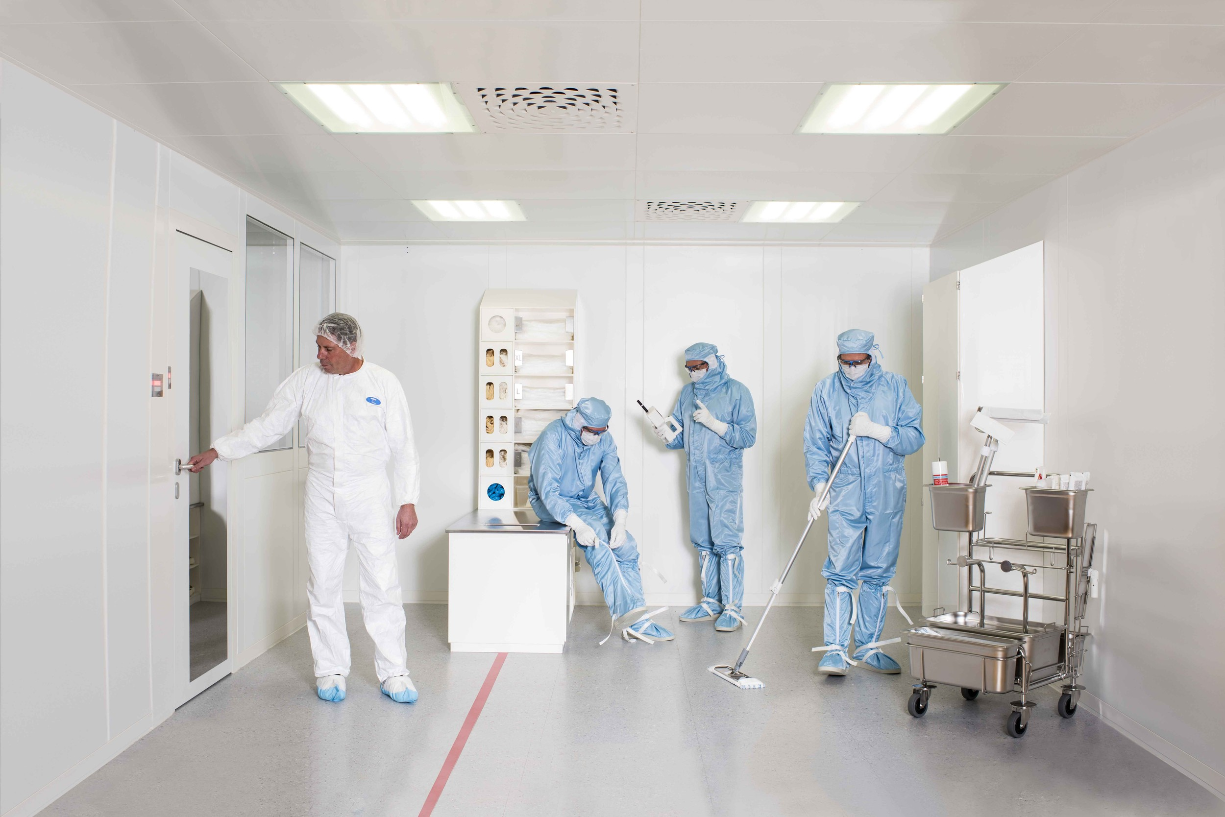 Honegger Cleanroom 1